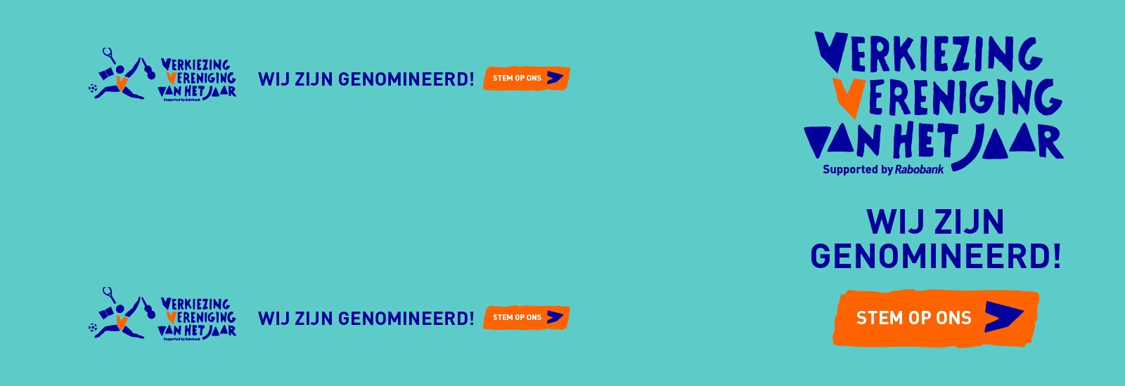 We zijn genomineerd! Hoera!