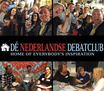 Spectaculair begin van het nieuwe seizoen bij Dé Nederlandse Debatclub!