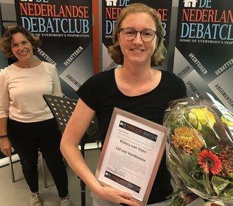 Bianca van Veen benoemd tot eerste Lid van Verdienste
