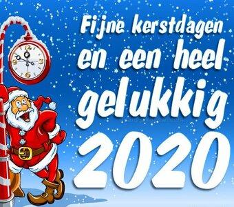 Wij wensen iedereen prettige Kerstdagen en een Gelukkig Nieuwjaar!