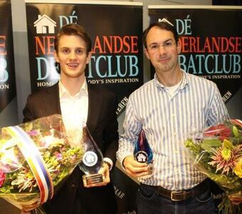 Dennis Bemelmans voor 3e keer clubkampioen. Mark van Marrewijk wint talentencategorie!