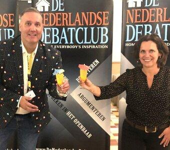 Bruisende afsluiting van een bizar debatseizoen bij Dé Nederlandse Debatclub